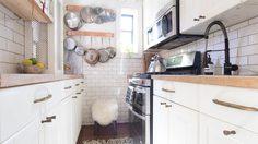 ส่อง 4 วิธีแต่งห้องครัว ไม่หวั่น แม้มันแคบมากกก! เทคนิคฉบับนิวยอร์กเกอร์