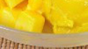 ซอร์เบทมะม่วง ไอศครีมรสมะม่วงเนื้อเนียน