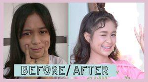 เปลี่ยนสาวหน้าสดให้สวย Before After 4 สาวดาวโรงเรียน