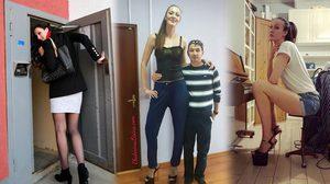 Ekaterina Lisina อดีตนักบาสรัสเซียทุบสถิตินางแบบตัวสูงที่สุดในโลก