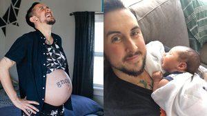 ผู้ชายก็ท้องได้ หนุ่มวัย 34 คลอดลูกชาย เด็กออกมาปลอดภัย สุขภาพแข็งแรง