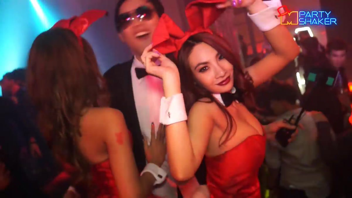 Playboy's Gothic Halloween Party 2014 : Party Shaker