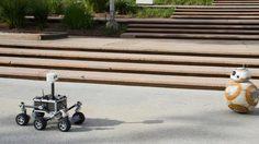 วันชื่นคืนสุขของ BB-8! เมื่อได้หุ่นเพื่อนใหม่ในนาซา