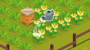 เกมส์ปลูกดอกไม้เก็บน้ำผึ้ง Yamina's Honey Garden