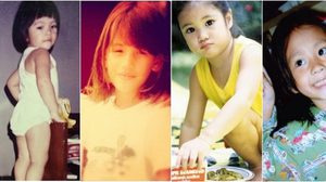 ย้อนวัยเด็กสุดน่ารัก ของ 8 สาวหล่อสุดฮอต