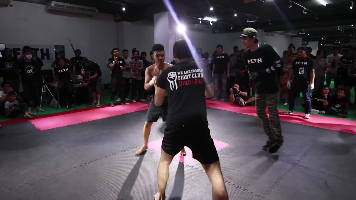 Fight Club Thailand 2017 Special Fight (ANTI-HERO) NOTHING x MOS berlin TRACK 2 คู่ที่ 204