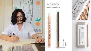 บุก คอนโด ศิลปิน ผู้ก่อตั้งแบรนด์ Grey Ray เครื่องเขียนไทยสไตล์ ECO ที่คว้ารางวัลระดับโลก