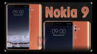 เผย!! ภาพเรนเดอร์ Nokia 9 มาพร้อมจอโค้งไร้กรอบ  AMOLED ขนาด 5.5 นิ้ว