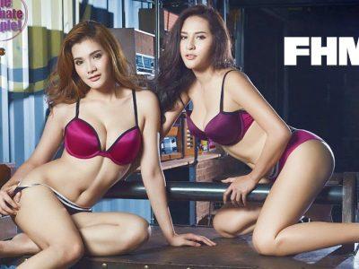 เดือน อออาย FHM 2 สาวประกบคู่ เซ็กซี่ทวีคูณ