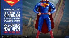 SUPER ALLOY Superman : DIE-Cast ผลงานจากค่าย DC