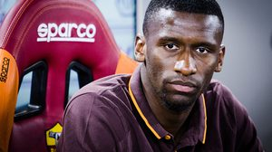 Press conference new defender As Roma Antonio Rudiger on Rome, Italy 3th September 2015 (Photo by Luca Carlino/NurPhoto) (Photo by Luca Carlino/NurPhoto) (Photo by NurPhoto/NurPhoto via Getty Images)