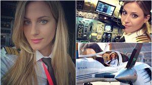ฝันเป็นจริงได้! สาวสวีเดนผันชีวิต จากช่างตัดผมสู่ นักบินอาชีพ