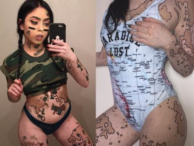 มันคือศิลปะผมให้ผ่าน สาวด่างขาว กับศิลปะร่างกายสุดเซ็กซี่