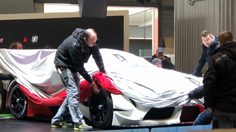 Toyota Supra Racing Concept ถึง Geneva แล้ว เตรียมเปิดผ้าคลุมเร็วๆนี้ แน่นอน
