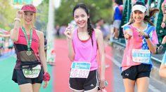 รวมสาวนักวิ่ง น่ารักๆ เห็นพวกเธอแล้ว ทำให้คุณมีแรงวิ่งตามทันที!!
