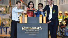 Continental Tires เริ่มติดตั้งเครื่องจักรเครื่องแรกที่โรงงาน Greenfield tire จังหวัดระยอง