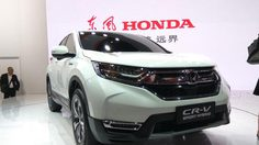 Honda CR-V Hybrid โชว์ตัวที่งาน Auto Shanghai 2017 ประเทศจีน