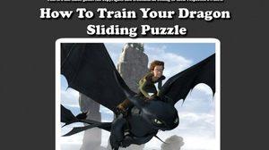 เกมส์ HowToTrainYourDragonSlidingPuzzle