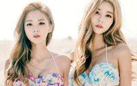 Chae Eun & Jeong Yeon สาวกิมจิ น่ารักแพคคู่ สวยใสอย่างกับแฝด