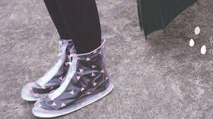 คนรักรองเท้ามีกรี๊ด! แฟชั่น ถุงคลุมรองเท้ากันฝน ฝนตก…เมื่อไหร่ก็ได้ เราไม่นอยด์ล่ะ