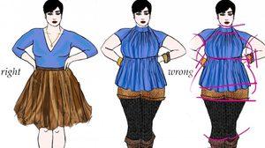 เคล็ดลับเด็ด เอาใจ สาวอวบ (มาก) เลือกชุดใส่ให้ดูผอม ด้วยเทคนิคที่ต้องรู้