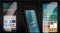 ภาพ คอนเซปต์ใหม่ iPhone 8 ที่มาพร้อม iOS 11 งดงามมาก