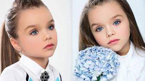 น่ารักเกิ๊นน! Anastasia Knyazeva นางแบบรัสเซียวัย 6 ขวบ สวยที่สุดในโลก