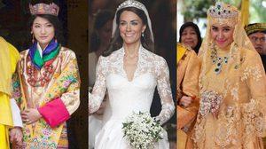 20 ภาพชุดเจ้าสาว จากราชวงศ์ต่างๆ