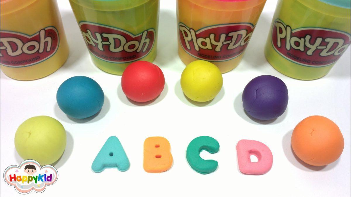 เรียนรู้ A-Z | แป้งโดว์ ABC | อ่าน ABC | ท่อง A ถึง Z | Learn Alphabet with Play doh | ABC Play Doh