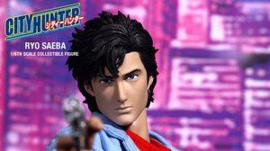 Hot toys City Hunter Ryo Saeba (ซาเอบะ เรียว ซิตี้ ฮันเตอร์)