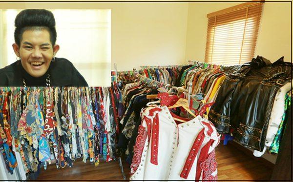 เสื้อล้นตู้! เก่ง ธชย ยอมรับ 'ต้องใช้ห้องเก็บเสื้อผ้า!'