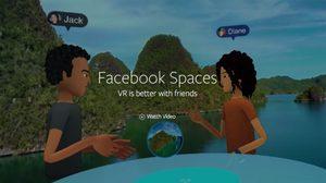 Facebook เปิดตัว Facebook Space แอพสำหรับแชร์ประสบการณ์กับเพื่อนผ่านแว่น VR