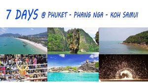 7 Day Thailand Trip Suggestion – Phuket – Phang Nga  – Koh Samui