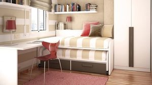 เซฟพื้นที่ ห้องนอน ด้วย เตียงนอน สารพัดประโยชน์