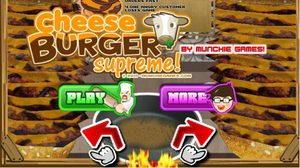 เกมส์ทำเบอร์เกอร์ CheeseBurger Supreme