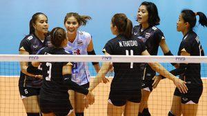 ลุ้นส้มหล่น! ทีมตบลูกยางสาวไทยลุ้นไปอลป. หลังรัสเซียอาจโดนตัดสิทธิ์