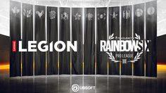 Ubisoft ผนึกกำลังLENOVO LEGION ผู้สนับสนุนหลักTOM CLANCY'S RAINBOW SIX SIEGE PRO LEAGUE