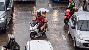 ประเทศไทยตอนบนจะมีอุณหภูมิสูงขึ้น และมีฝนฟ้าคะนองบางพื้นที่