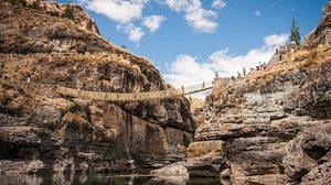 สะพานเชือกอินคา เทือกเขาแอนดีสของเปรู หนึ่งในมรดกโลกสุดอันซีน!