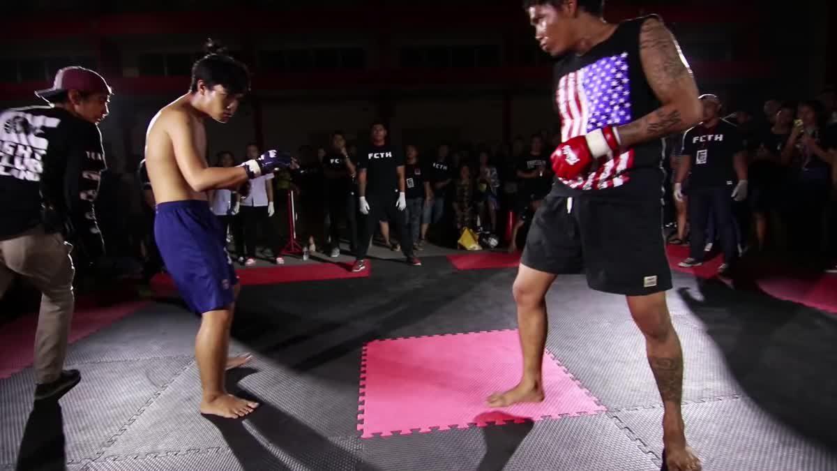 Fight Club Thailand วันสำคัญ PK hunter x เบญ ซอมบี้บอย คู่ที่ 146