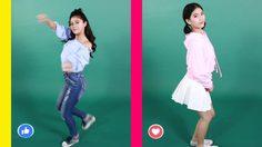 2 สาวดาวโรงเรียน กีวี่ Vs เรย์ Cover Korea Dance
