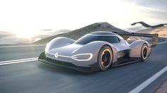 Volkswagen I.D. R Concept รถแข่งไฟฟ้า อัตราเร่งเหนือกว่าฟอร์มูล่าวัน