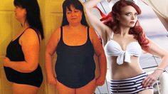 ใจสู้เราทำได้ คุณแม่ลูก 4 ลดน้ำหนักเกือบ 60 กก. กลับมาสวยเซ็กซี่ จนสามีอึ้ง!!!