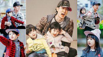 ครอบครัวน่ารักซุปตาร์ดังไต้หวัน อู๋จุน และลูกสาว ลูกชาย