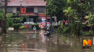 ฝนถล่ม! น้ำท่วมทั่วเมืองเชียงใหม่ โรงเรียนสั่งปิดหลายแห่ง