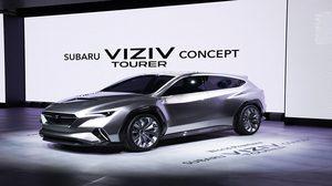 ยลโฉมรถต้นแบบ Subaru VIZIV Tourer ครั้งแรกในโลก ในงาน Geneva International Motor Show