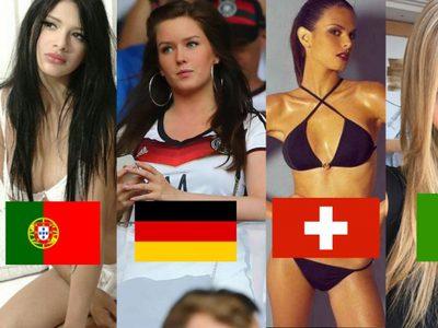 ส่องอย่างด่วน! 10 สาว แฟนนักบอล ที่แจ่มสุดใน Euro 2016