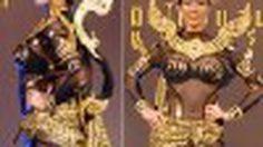 ชุดประจำชาติ มิสไทยแลนด์ยูนิเวิร์ส 2011 น้องฟ้า ชัญษร มาแล้วจ้า !!