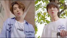 """สองหนุ่ม ชานิ – ฮวียอง SF9 ร่วมเชียร์บอลโลกกับชาวตลาด """"สภากาแฟ 4.0"""""""