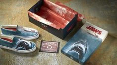 สักคู่ไหม!? Sperry จะวางขายรองเท้าลาย Jaws ในช่วงซัมเมอร์นี้